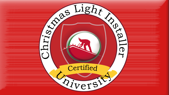 certified christmas light training