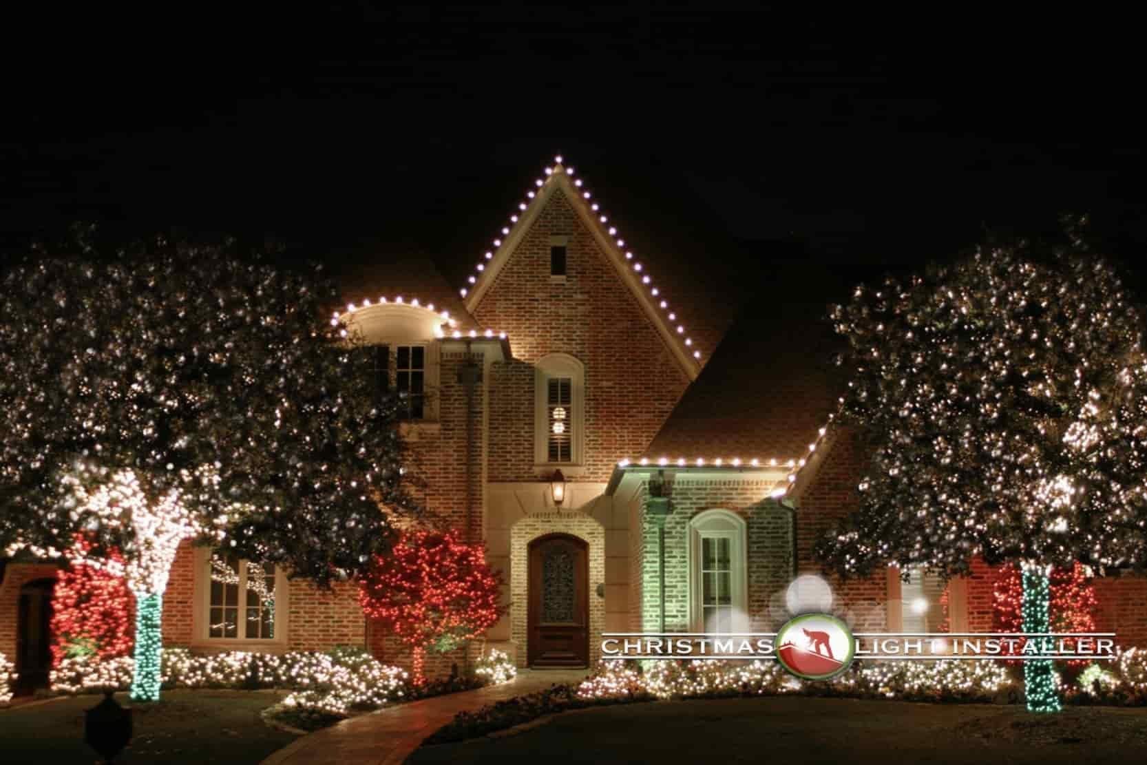 Christmas Light Install in DFW